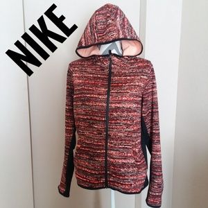 Nike Fleece Warm Full Zipper Fall Therma Hoodie